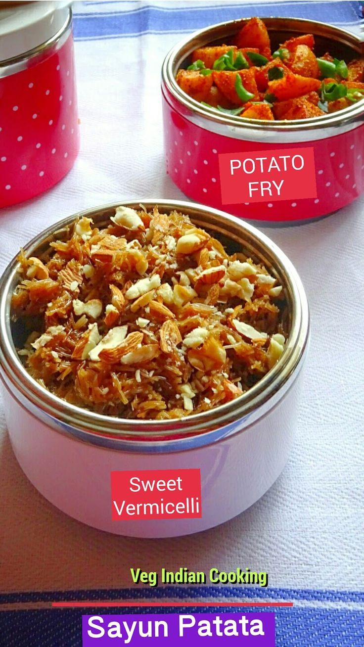 Sindhi Sayun Patata (Sweet Seviyan & Aloo Fry)