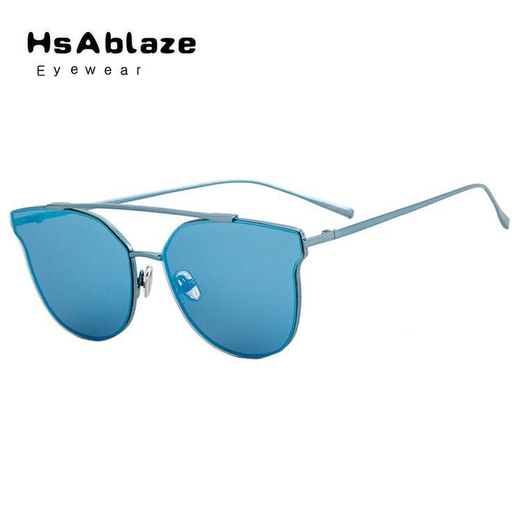 HsAblaze Eyewear Cat Eye Shade Summer Sunglasses Women Vintage Brand Designer Glasses For Ladies Gafas Retro Oculos UV400 #Affiliate