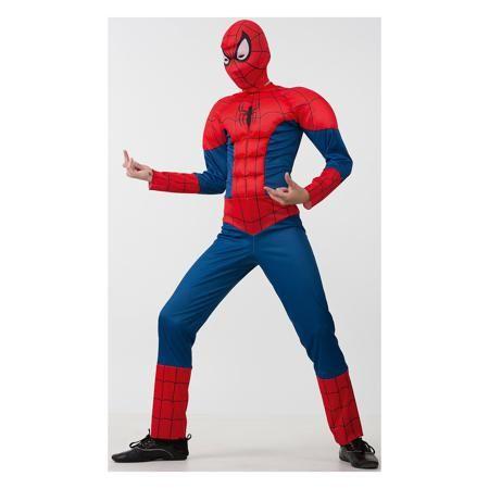 """Батик Карнавальный костюм """"Человек Паук"""", Батик  — 2599р. ------ Этот костюм приведет в восторг любого мальчишку! Наряд состоит из маски и удобного комбинезона с рельефными вставками, изображающими мышцы. Дети обожают перевоплощаться, позвольте вашему ребенку почувствовать себя королем вечера и получить настоящее удовольствие от самого волшебного праздника в году! Костюм выполнен из высококачественных экологичных материалов, в производстве ткани использованы только безопасные…"""
