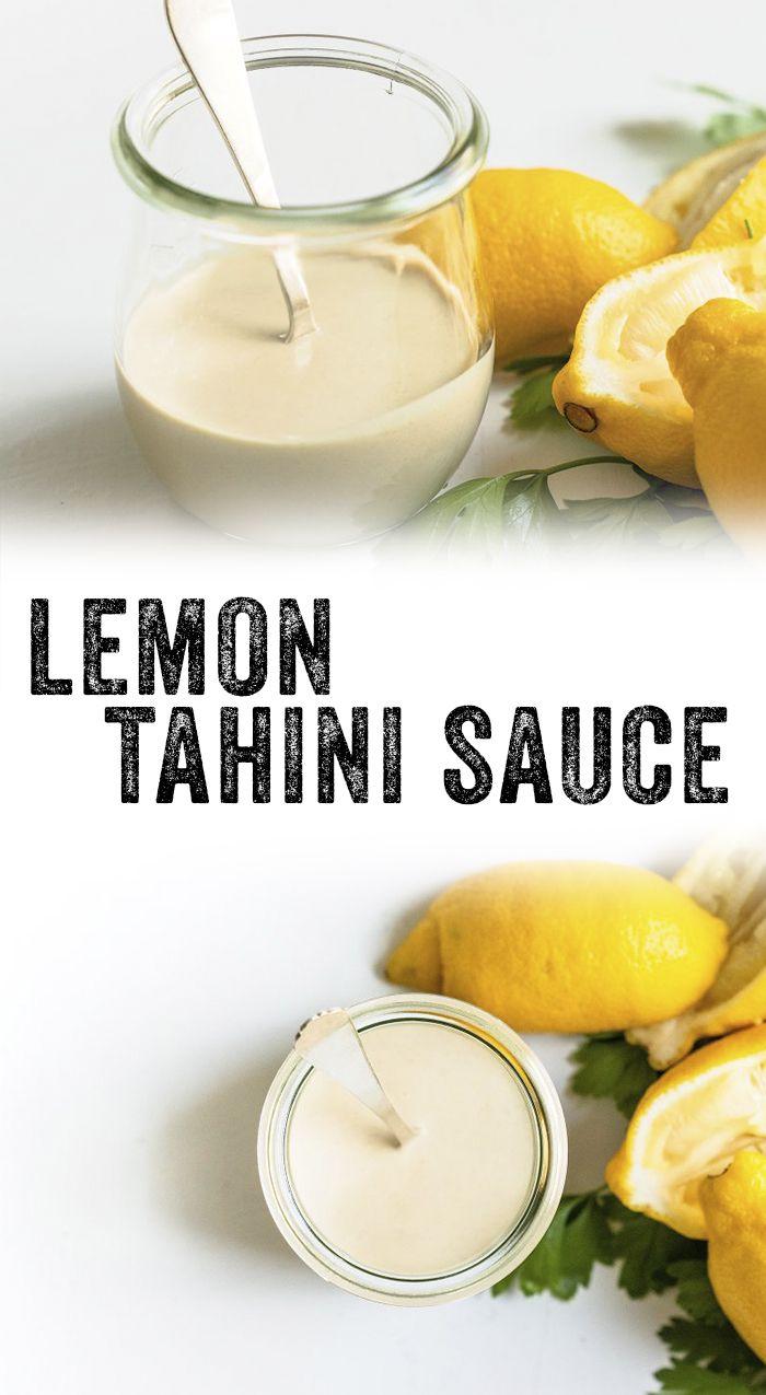 Best Tahini Sauce