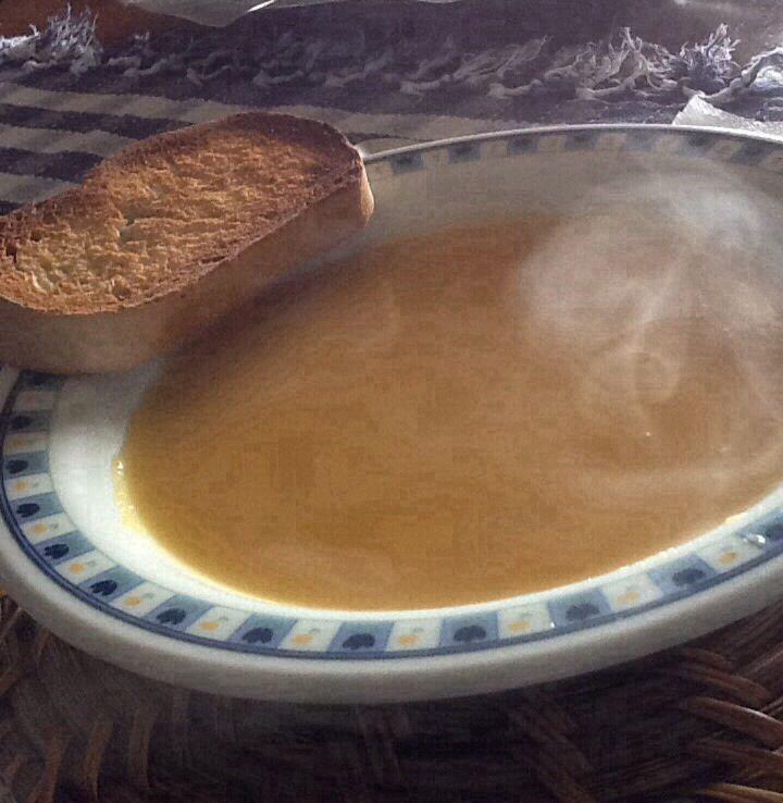 Crema di zucca allo zenzero