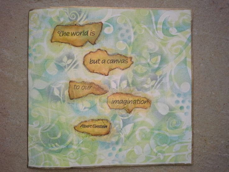 Words on Canvas