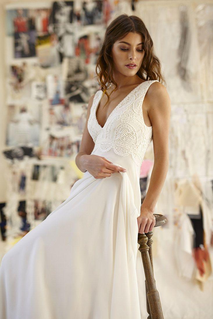 Robe de mariage : Toutes les collections de Bérengère Saint Pierre – Créatrice de robes de mariée uniques et sur mesure à Paris