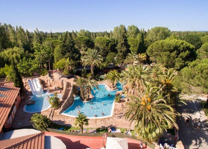 Camping 5 étoiles dans le Langeudoc Roussillon - Le domaine du camping L\'Hippocampe