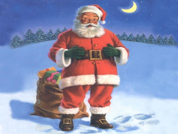 Santa Claus | the tradition of santa claus entering dwellings through the chimney