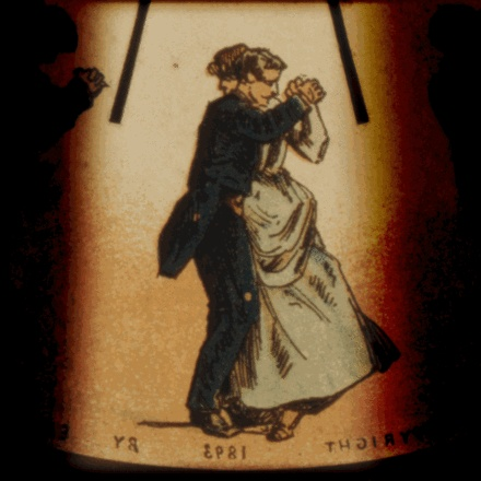 Define: Rhythm (via http://en.wikipedia.org/wiki/Rhythm)  Rhythm, a sequence in time repeated, featured in dance: an early moving picture demonstrates the waltz.