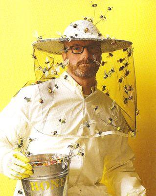 bee keeper costume.