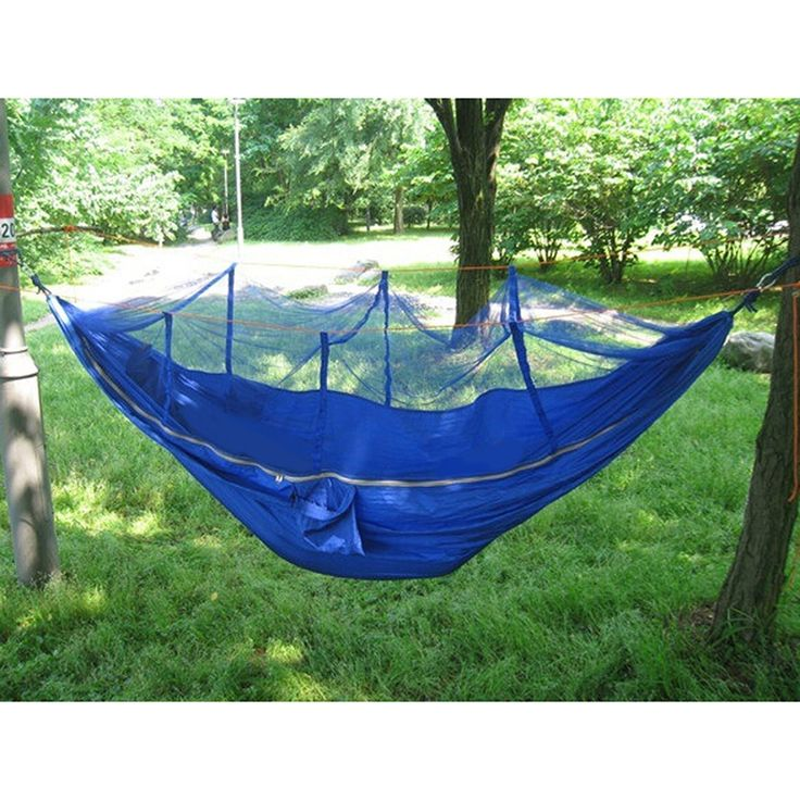 Whosee Outdoor Camping Hammock Mosquito Net Portable Indoor Hangmat Garden Hanging Bed *** Wow! I love this. Check it out now! : Camping Furniture