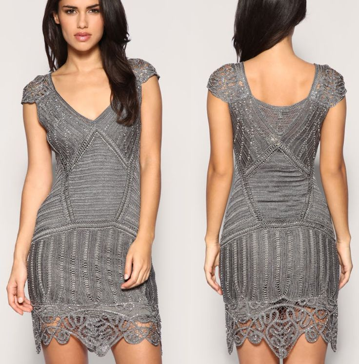 Olgaknits. Knitting and crochet!: Karen Millen dress