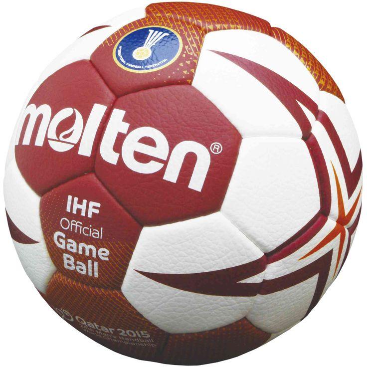 Handball WM Ball 2015 präsentiert von Molten - dem neuen Partner der IHF | Handball Blog Sportartikel | Handball-Markt - Der Handballshop!