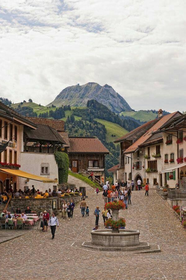 Gruyeres,Switzerland