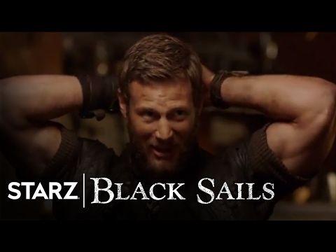 Black Sails | Fearless Fans | Tom Hopper, Toby Stephens, Luke Arnold | STARZ