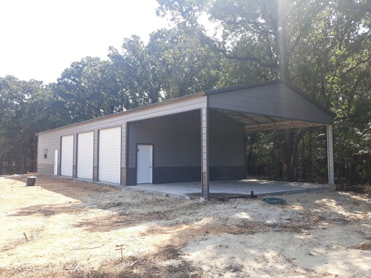 24' x 60' x 9' Vertical Roof Combo Unit in 2020 Custom