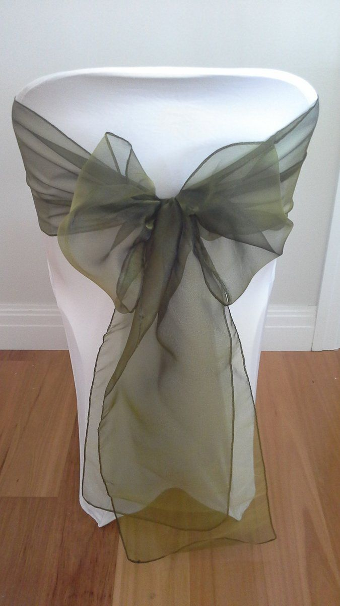 Ex hire event/wedding chair decor for sale. Clearance stock Chair Covers, Satin & Organza Sashes at bargain prices - Dawn Again Event Styling Glenelg, Adelaide