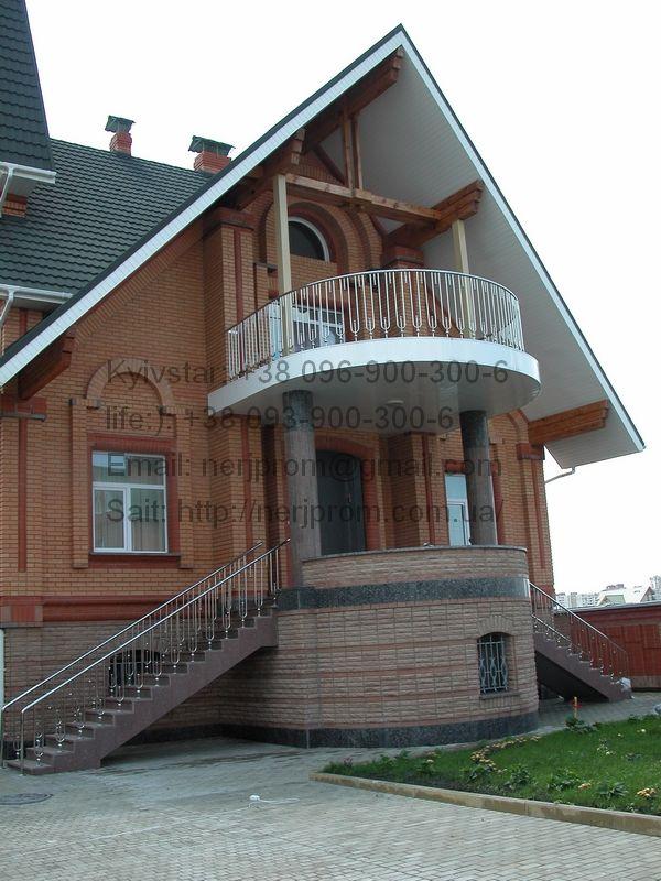#ограждение балконов из нержавейки Елит #НержПром лестничные #перила