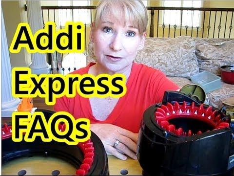 In this episode: Frequently Asked Questions about the Addi Express Knitting Machines! What are they? What can you make? What size hats? Addi or flatbed? Whic...