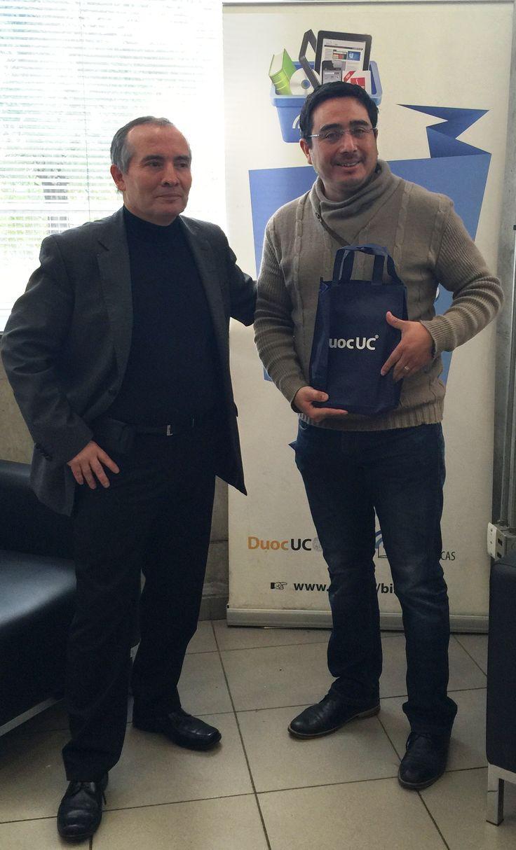 Ganador concurso día del Libro 2015. Fernando González