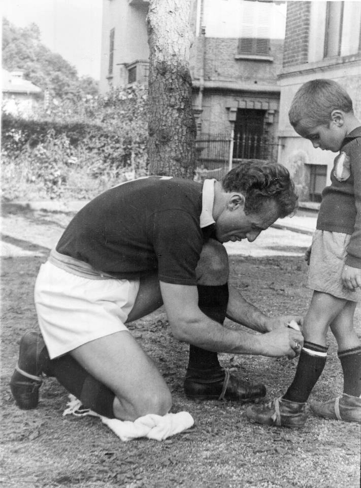 Valentino and Sandro Mazzola