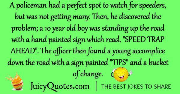 Funny Police Joke - 6