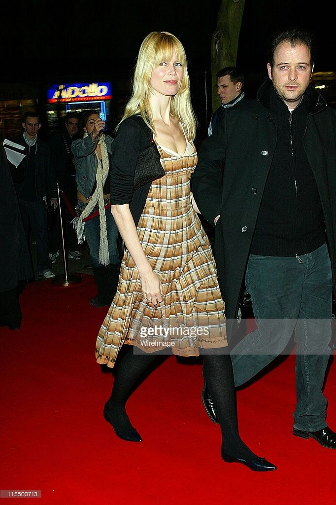 Matthew Vaughn (right) and wife Claudia Schiffer during 'Suzie Gold' - London Premiere at Screen On The Hill in London, Great Britain.