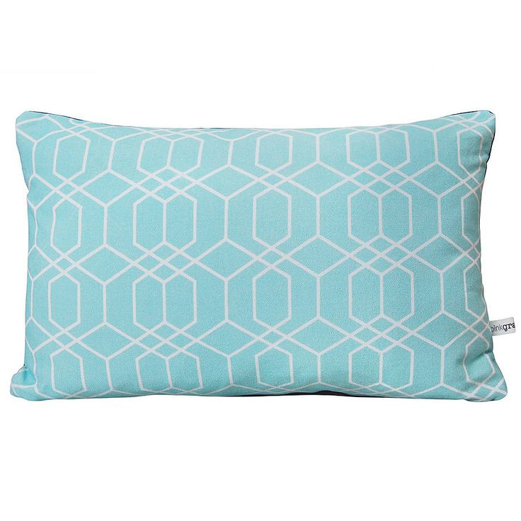 honeycomb cushion by pink grapefruit | notonthehighstreet.com