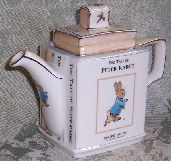 Katie's PETER RABBIT TEAPOT  by James Saddler    Gotta have this!
