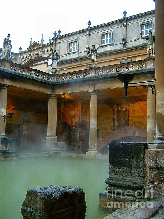 Roman Baths by Heather Nel