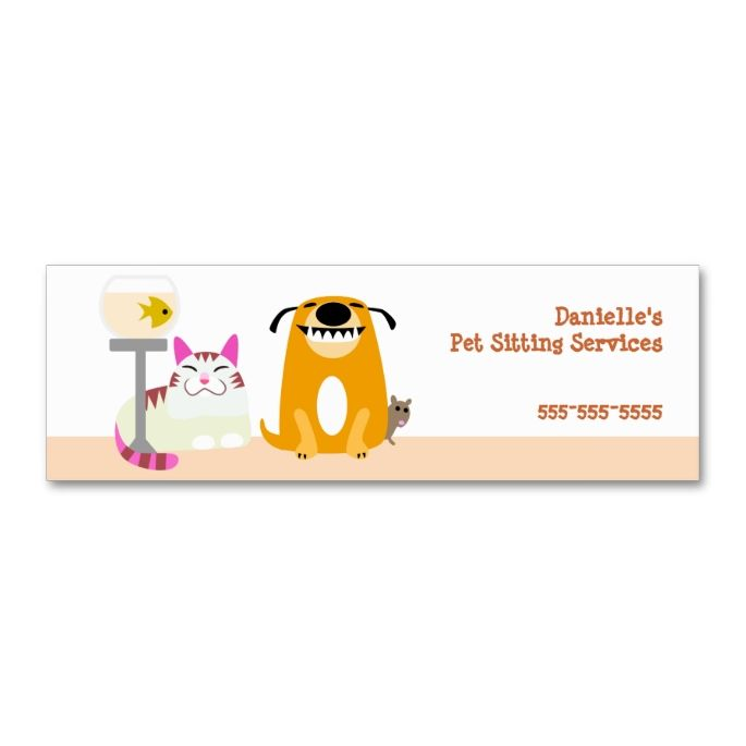 The 2185 best images about animal pet care business card for Pet business cards