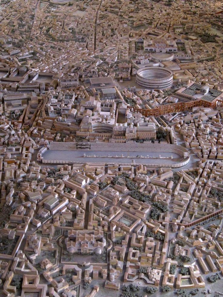 Model of Ancient Rome in the time of Constantine, designed by Italo Gismondi, Lazio