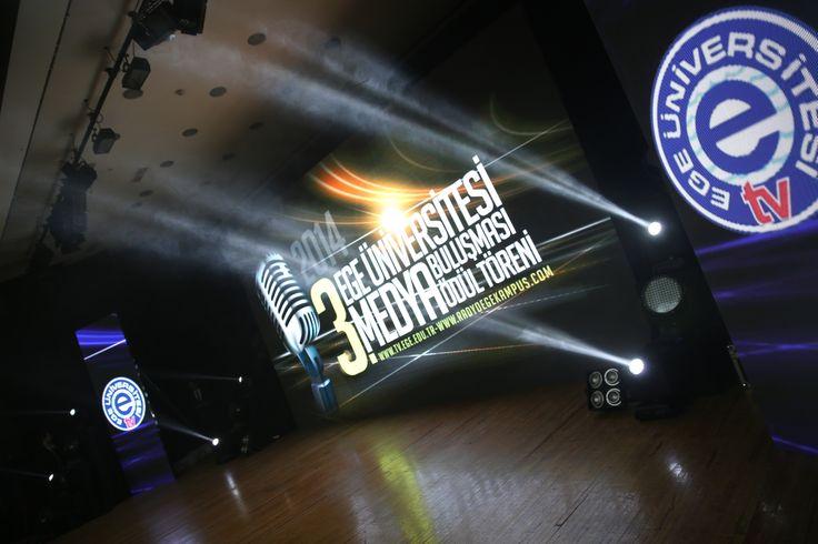Ege Üniversitesi 3. Medya Ödül Töreni'nden Kareler