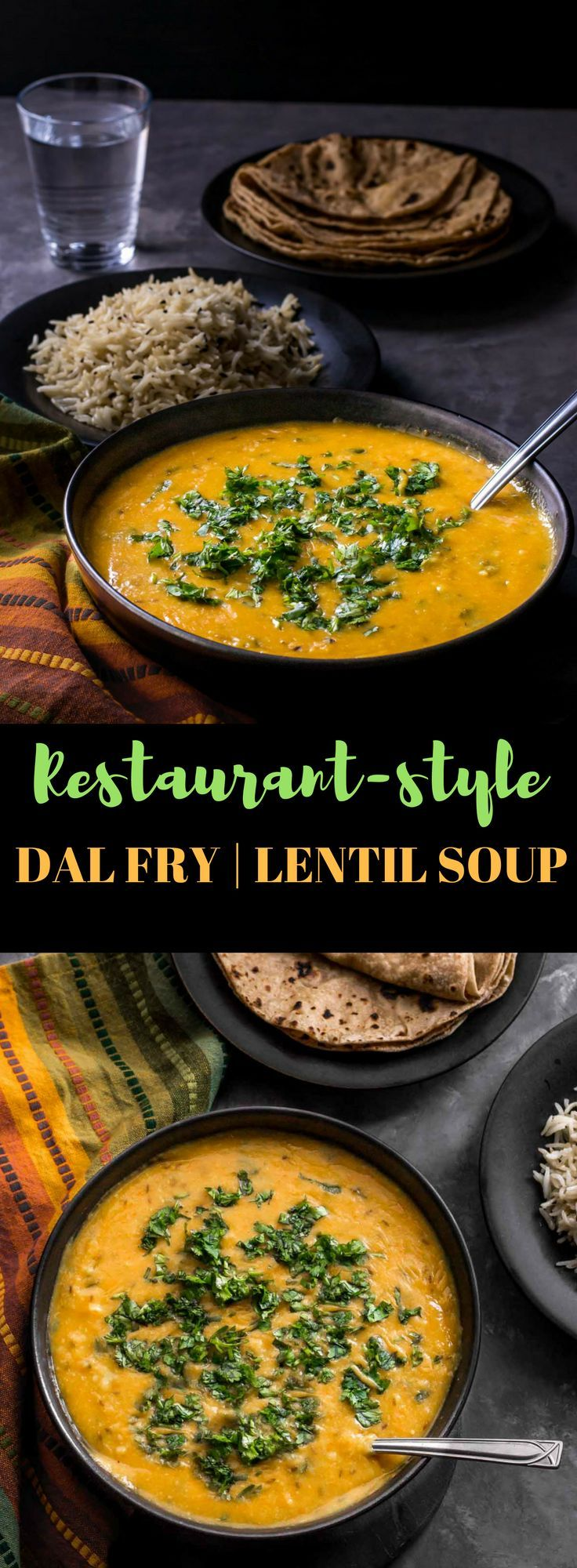This recipe for Dal Fry is super easy to make and will make even hard to impress guests a believer of your cooking skills. via @simmertoslimmer
