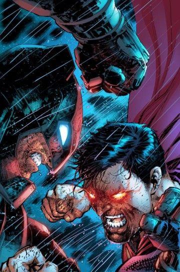 dibujos de batman vs superman a lapiz