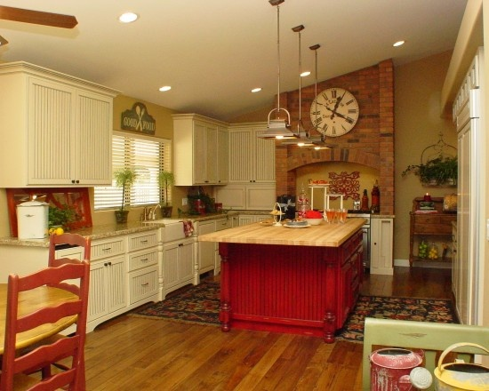 85 best country kitchen images on pinterest kitchens for Country kitchen paint colors