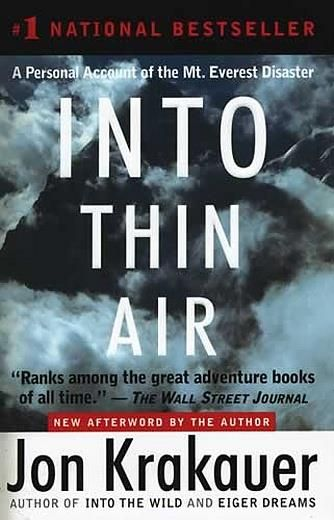 into thin air leadership lessons Imagine you enter into an area known as the death zone because at  in her  best-selling book, on the edge with lessons in leadership, risk and teamwork   acclimatizing to everest's thin air is an extensive and vexing, but.