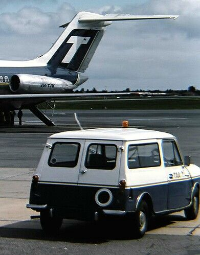 TAA, Trans Australia Airlines, Airport Service Car