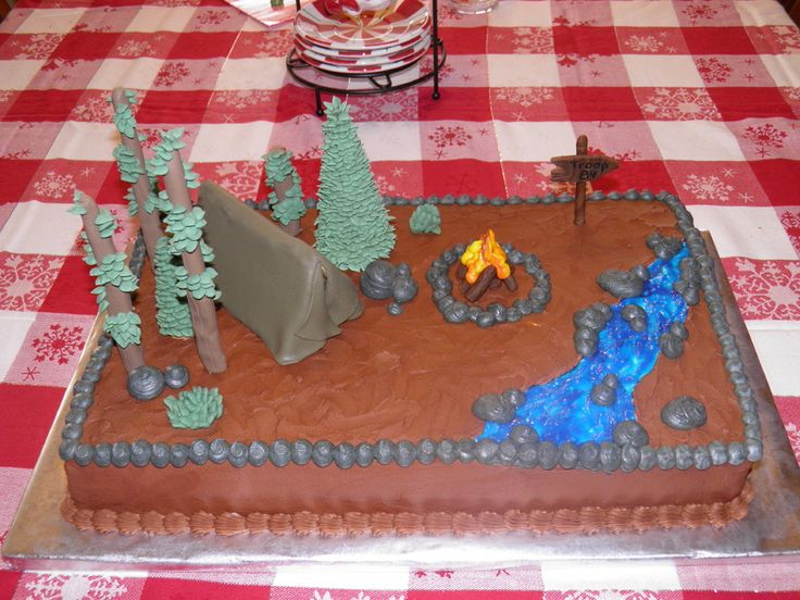 Cake Decorating Ideas For Boy Scouts : 12 best images about Cakes boy scouts on Pinterest Cake ...