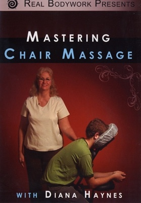 Click to get Mastering Chair Massage DVD. his beautiful program will teach you over 50 techniques that you can incorporate into a 10, 15, or 30 minute chair massage. DVD's on special till July 31, 2012 Enter Coupon code JulyDVD when you check out to get 25% off when you buy any 2 titles... Just $37.23