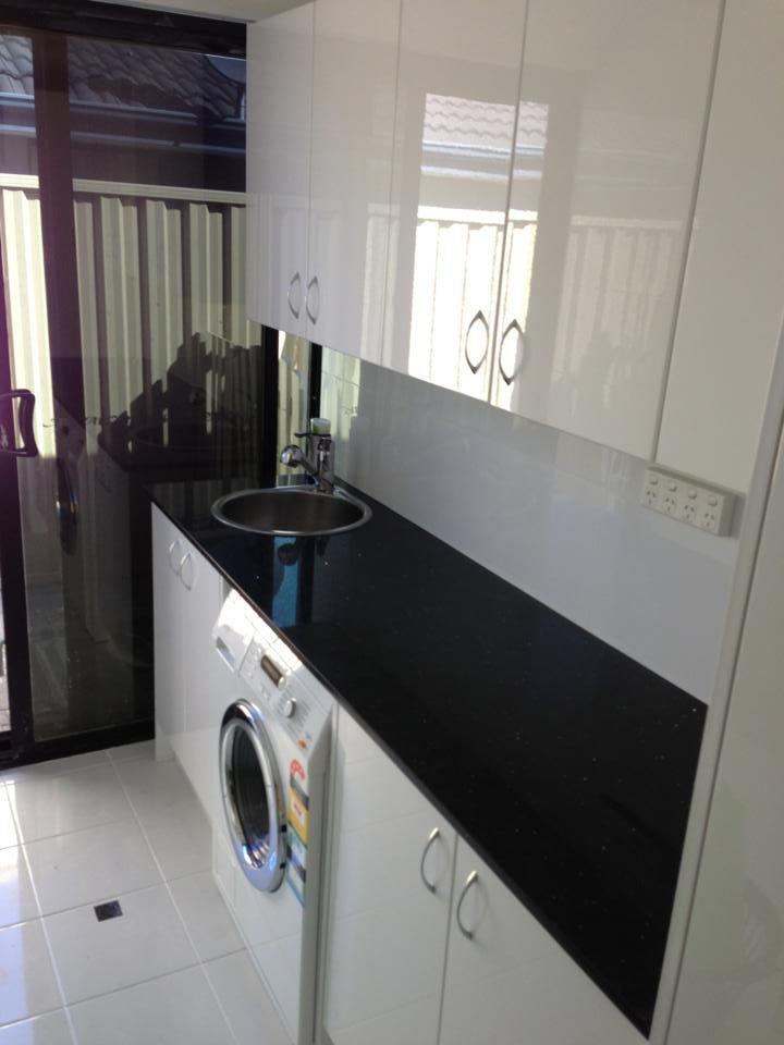 Laundry Idea - Laundry Tops - Laundry Cupboards - Laundry Ideas - Laundry Sink - Laundries - Laundry Renovation - On the ball bathroom completed project   Laundries Perth