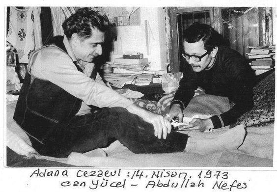 Can Yücel Adana Cezaevi 1973