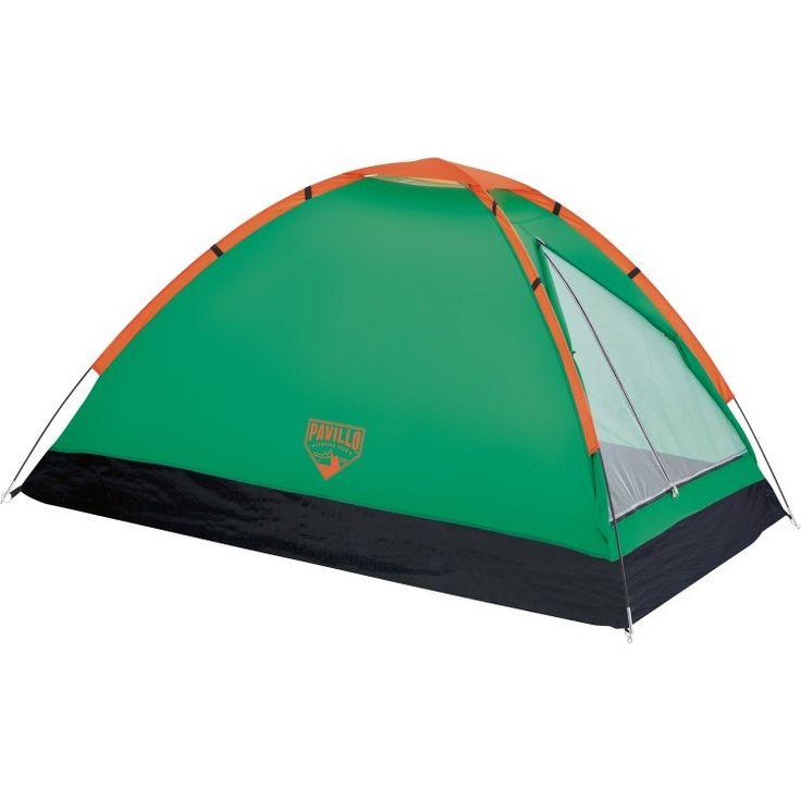 Pavillo Monodome X2 koepeltent groen  Een tent is normaal gesproken het grootste en zwaarste onderdeel van uw kampeeruitrusting. Niet met de Pavillo Monodome X2! Deze lichtgewicht en compacte 2-persoons koepeltent neemt u zo mee op een wandel- of trektocht. Deze tent is eenvoudig op te zetten en perfect voor kamperen in goede weersomstandigheden. Kortom een zeer praktisch en no-nonsense tentje.  EUR 25.95  Meer informatie