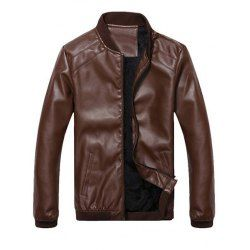 Leather Jacket For Men Fashion Shop Online | Twinkledeals.com