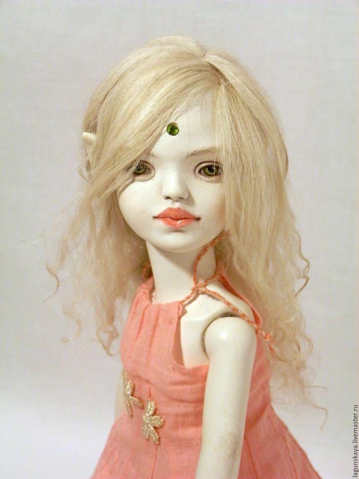 Купить Миа - комбинированный, кукла ручной работы, кукла в подарок, кукла интерьерная, кукла фея