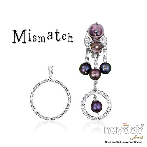 ‪#‎Mismatch‬ Collection to promote ‪#‎genderequality‬ this March! Cause ‪#‎notthereyet‬, cause mismatch of women freedom than men. ‪#‎gendergap‬ ‪#‎jewelleryforacause‬ ‪#‎springmarch‬ ‪#‎trends‬ ‪#‎earrings‬