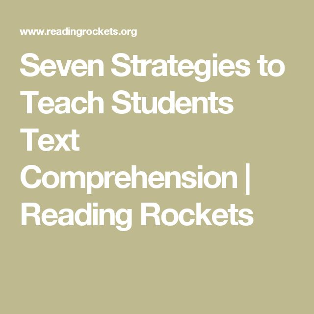 Module 3: Seven Strategies to Teach Students Text Comprehension   Reading…