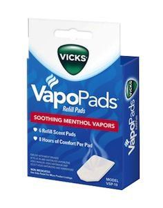 Vicks VSP-19 Waterless Vaporizer Scent Pads 6-Pack - these work so GREAT!!! in the cool mist - no filter Vicks humidifier