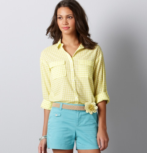 I absolutely love this look. It screams spring. I live in Loft clothing!