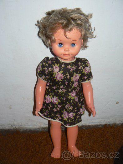 Retro panenka pro sběratele - mrkací - 1