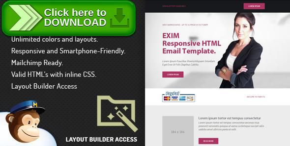 [ThemeForest]Free nulled download Exim - Email Template With Layout Editor from http://zippyfile.download/f.php?id=11164 Tags: email, email address, email addresses, email builder, email editor, emails, free email, free templates, layout builder, layout editor, newsletter, outlook email, outlook express, template builder, template editor