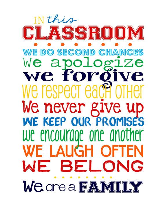 In this Classroom We... 11x14 print  PERFECT by sweetleighmama, $22.00