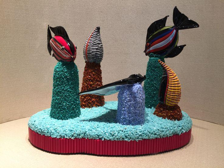 murano glass aquarium / acquario in vetro di murano / murano glass sculpture / scultura in vetro di Murano / handmade / murano glass di Sanmarcoartedesign su Etsy